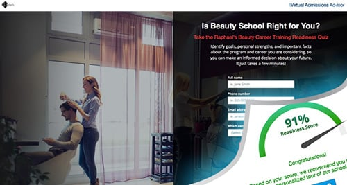 Raphael's School of Beauty Culture Virtual Asmissions Advisor