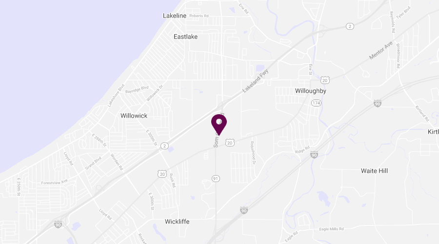 Map of Willoughby Location